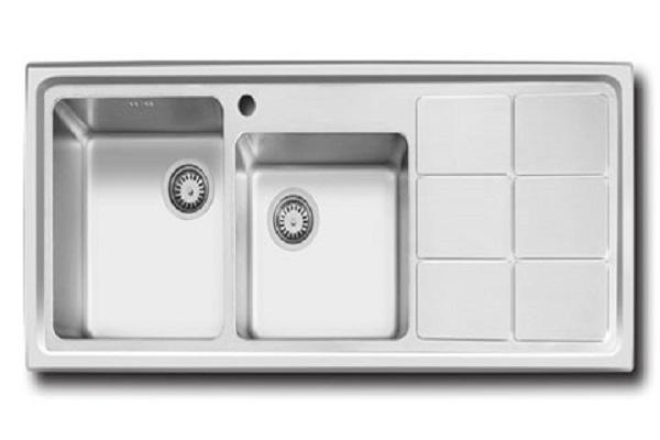 سینک ظرفشویی توکار اخوان مدل 304S