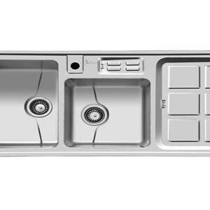 سینک ظرفشویی توکار اخوان مدل 318S