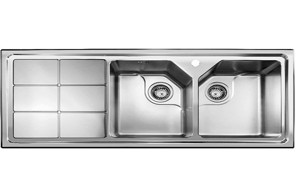 سینک ظرفشویی توکار اخوان مدل 324