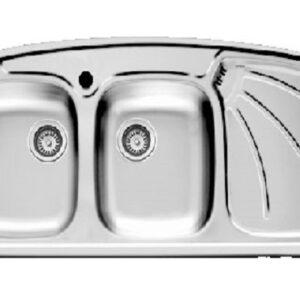 سینک ظرفشویی توکار اخوان مدل 136SP